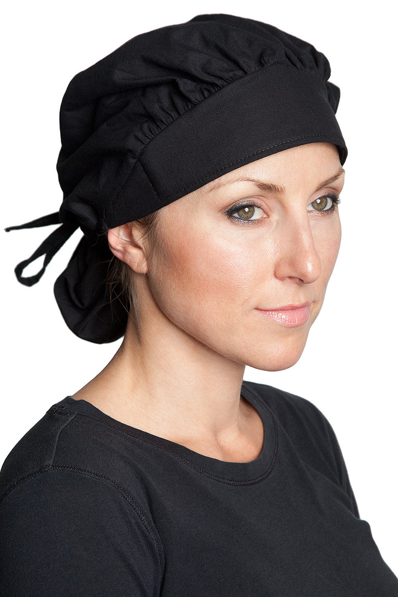 Banded Bouffant Cap by Fiumara Apparel