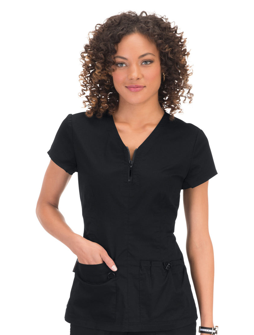 Koi Mackenzie Stretch Scrub Top Main