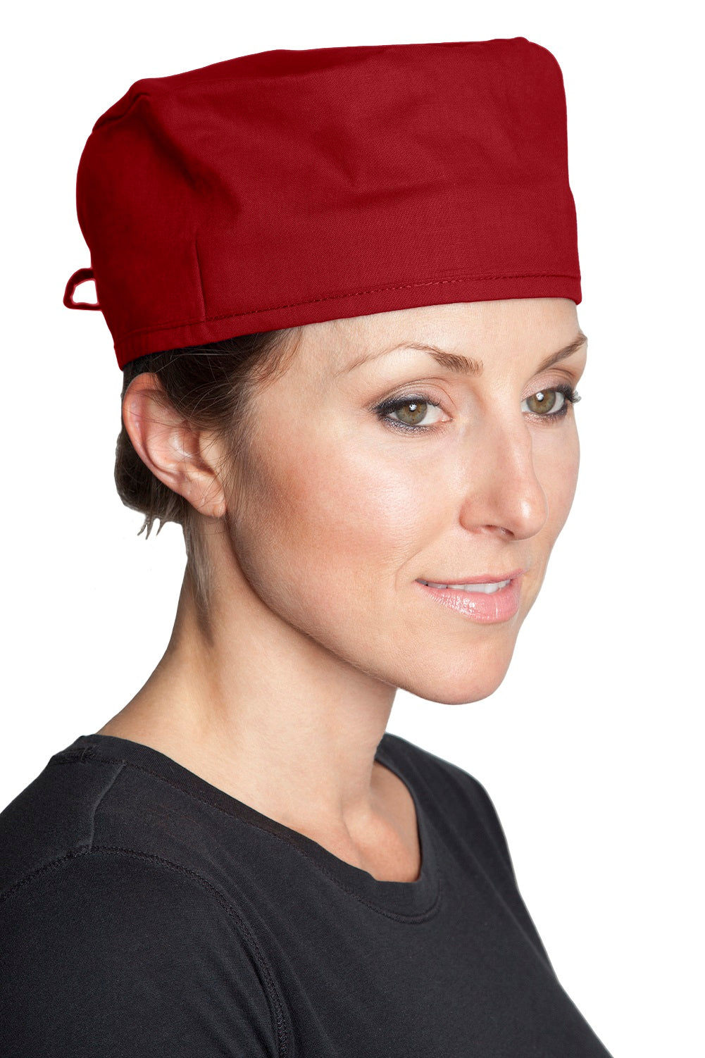 Fiumara Apparel Surgical Scrub Cap - Wine