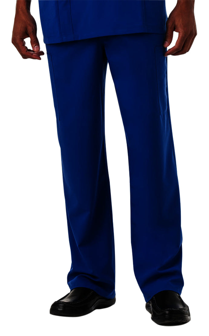 Jockey Men's Seven-Pocket Scrub Pant Royal