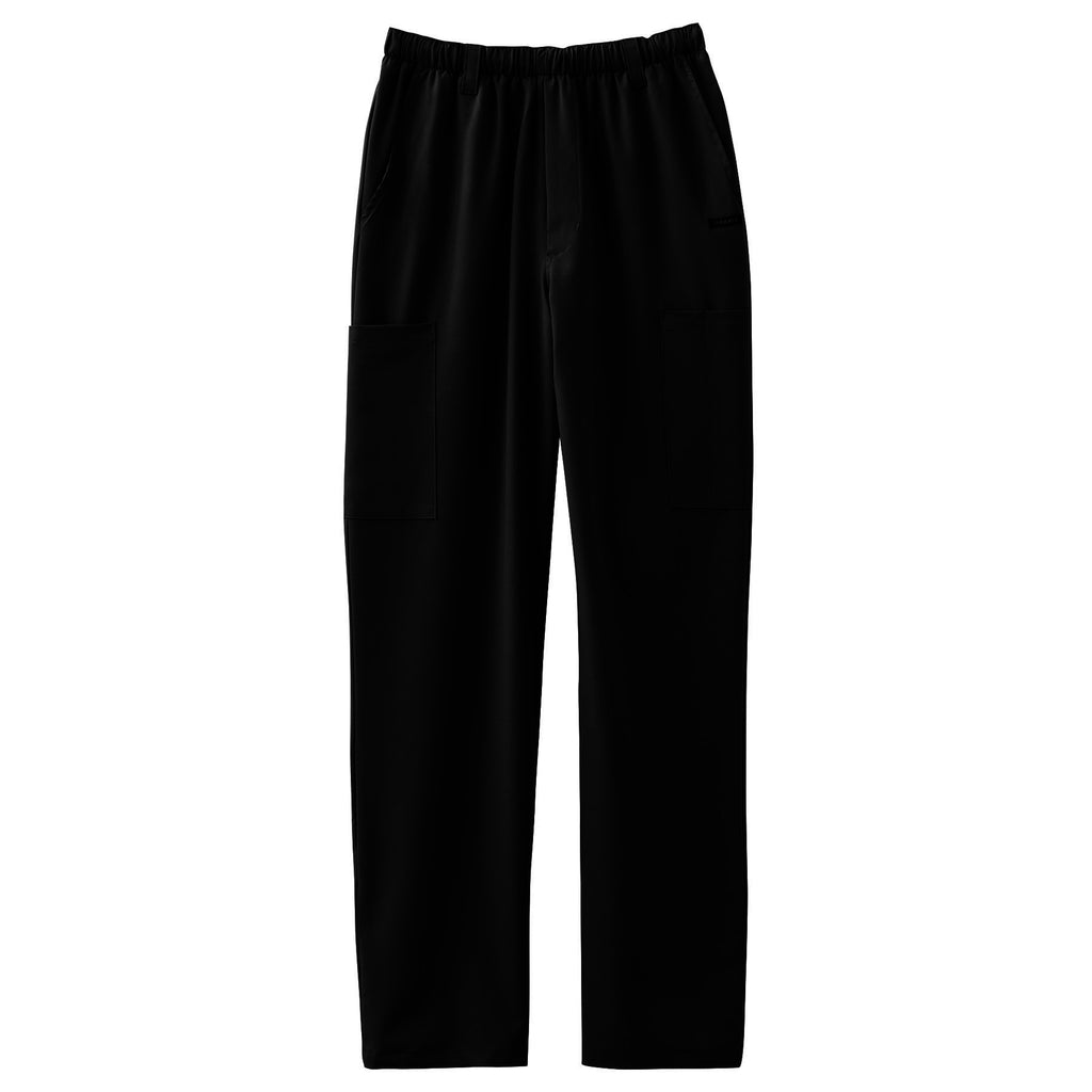 Jockey Men's Seven-Pocket Scrub Pant Black