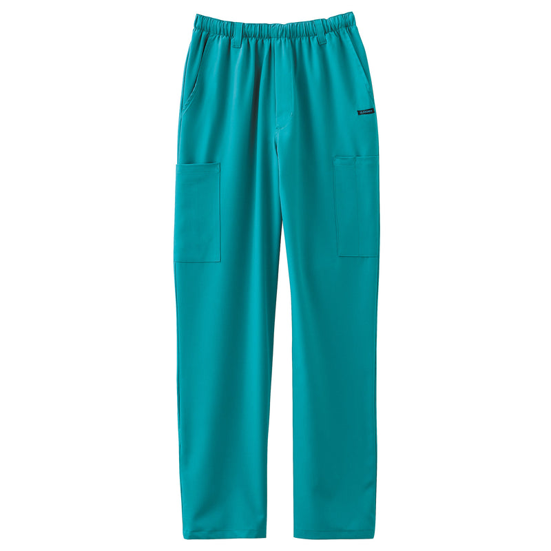 Jockey Men's Seven-Pocket Scrub Pant Teal