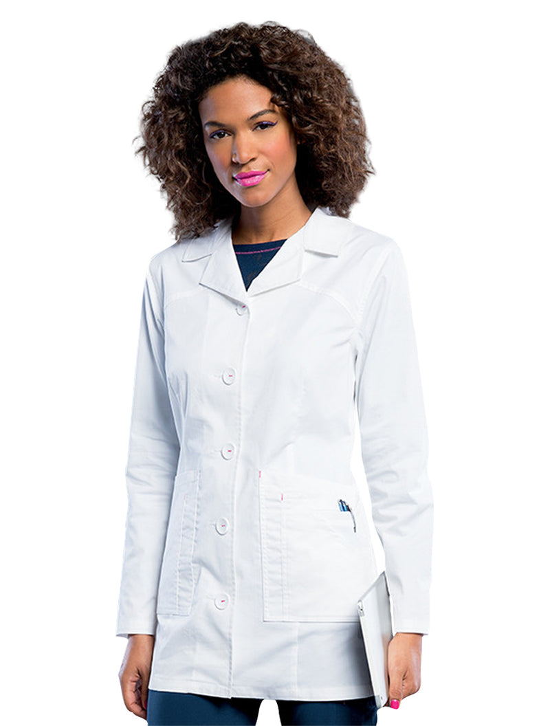 Landau Women's Lab Coat w/ Tablet Pocket