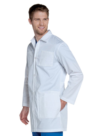 Landau Men's Antimicrobial Lab Coat