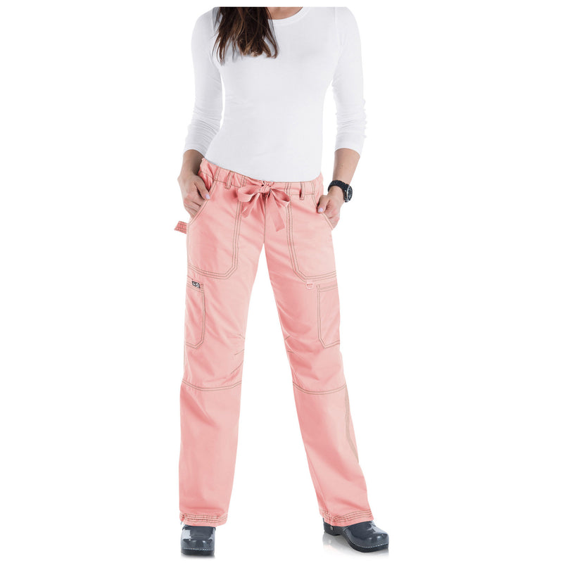 Koi Lindsey Cargo Pocket Pant Blush