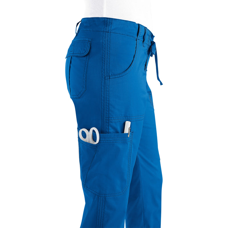 Koi Lindsey Stretch Scrub Pants Royal