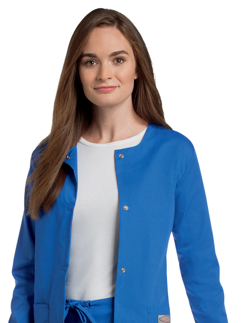 Landau Women's Warm-Up Jacket  Main - Royal Blue