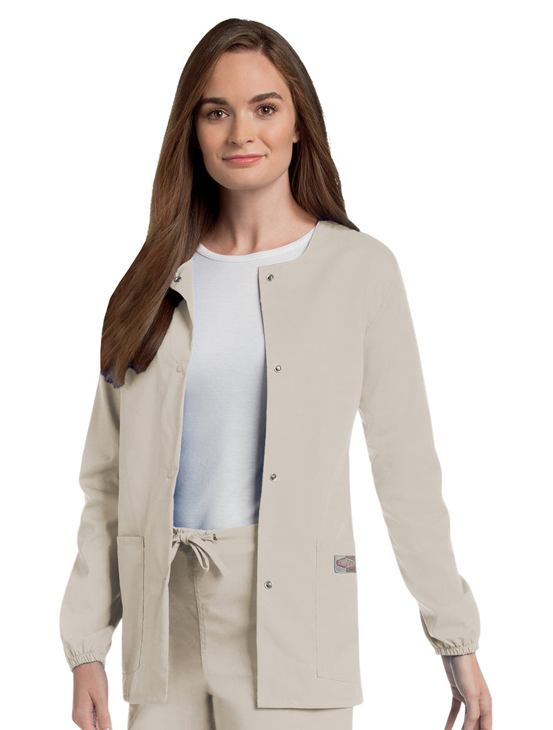 Landau Women's Warm-Up Jacket - Sandstone
