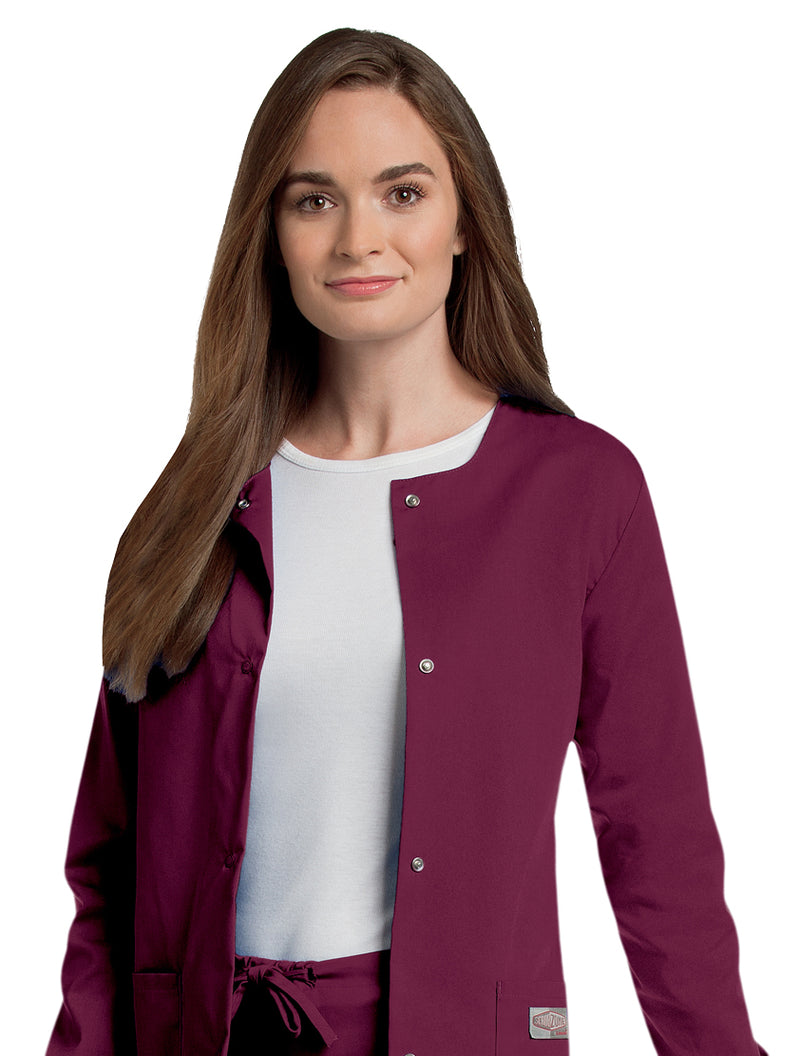 Landau Women's Warm-Up Jacket - Wine