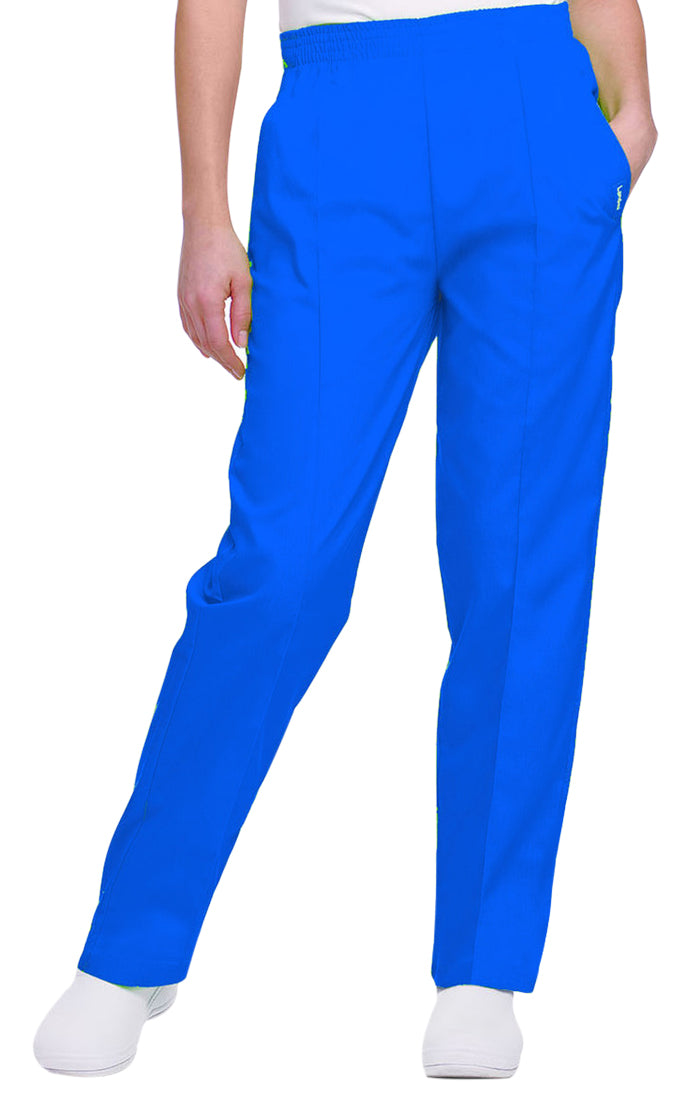 Landau Women's Classic Tapered Leg Pant Galaxy Blue