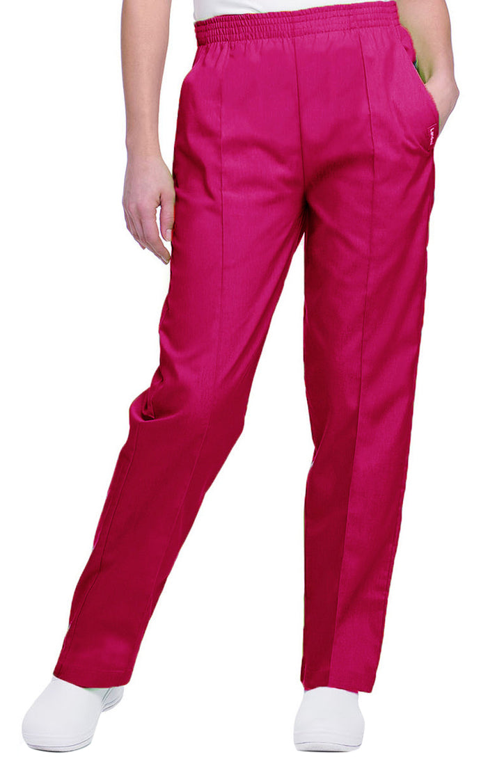 Landau Women's Classic Tapered Leg Pant True Red