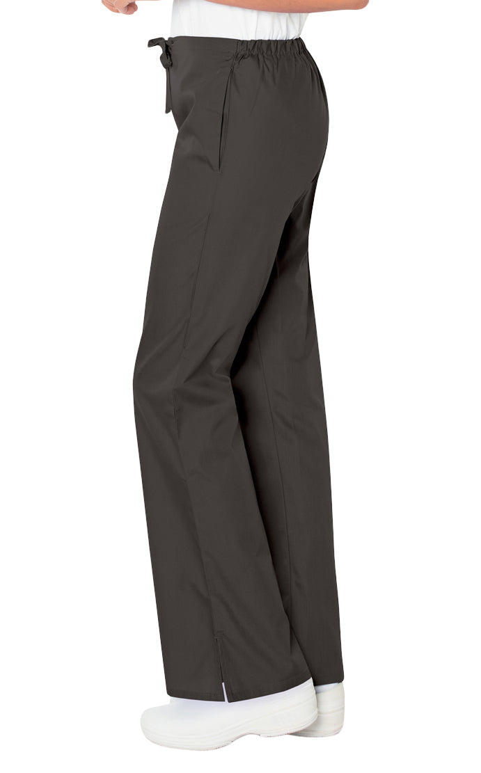 Landau Women's Flare Leg Pant Side View - Black