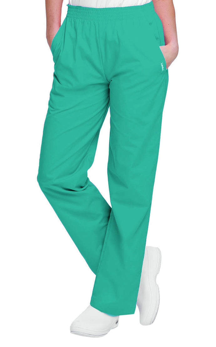 Landau Women's Classic Relaxed Pant Teal