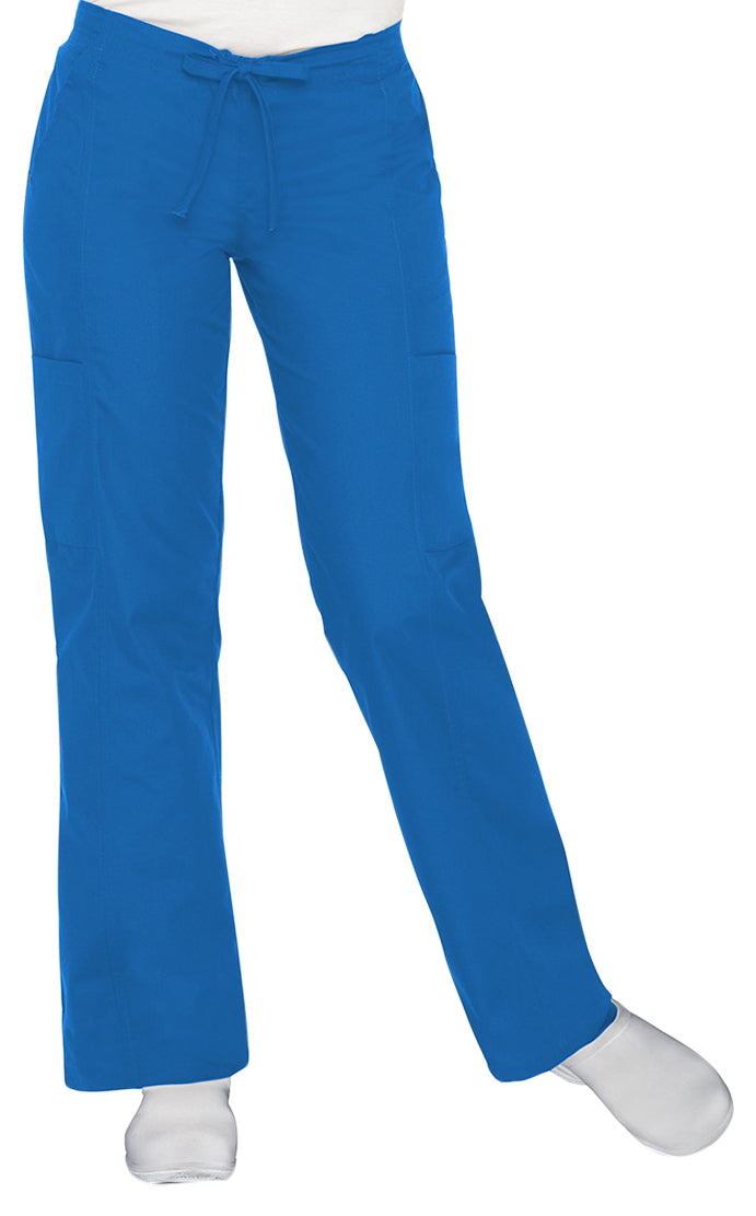 Landau Women's Modern Dual-Pocket Cargo Pant Royal Blue