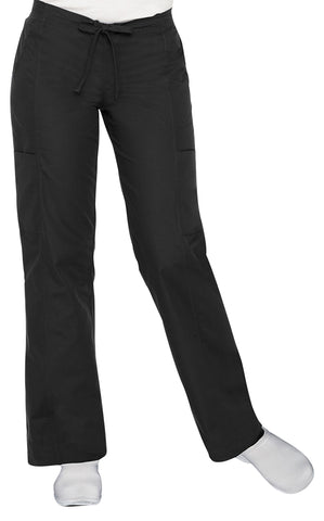 Landau Women's Modern Dual-Pocket Scrub Pants