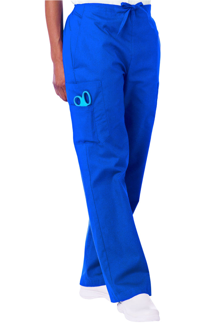 Landau Cargo Drawstring Pant Royal Blue