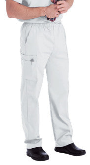 Landau Men's Cargo Pant White