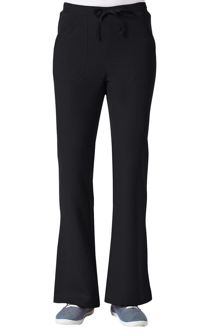 "Maevn Women's ""Gravity"" Elastic Flare Pants Black"