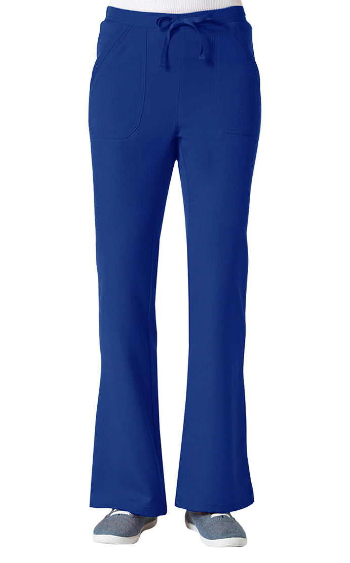 "Maevn Women's ""Gravity"" Elastic Flare Pants Galactic Blue"