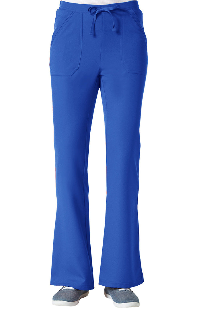 "Maevn Women's ""Gravity"" Elastic Flare Pants Royal Blue"
