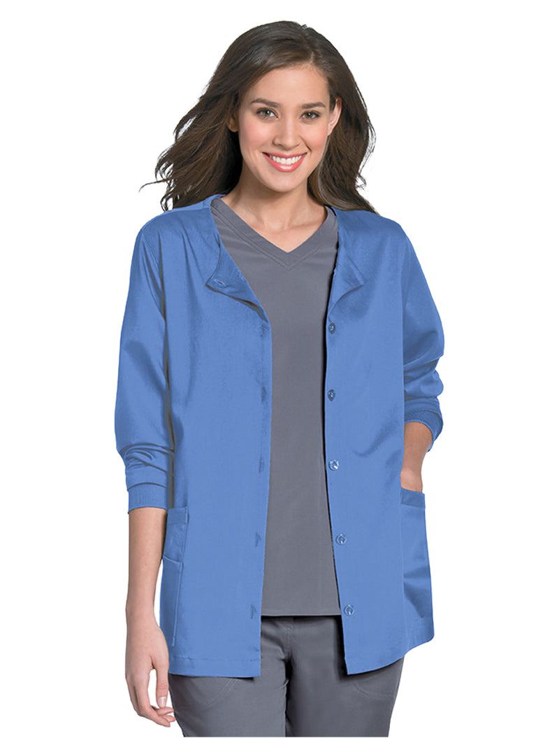 Urbane Women's Button Front Jacket Ceil