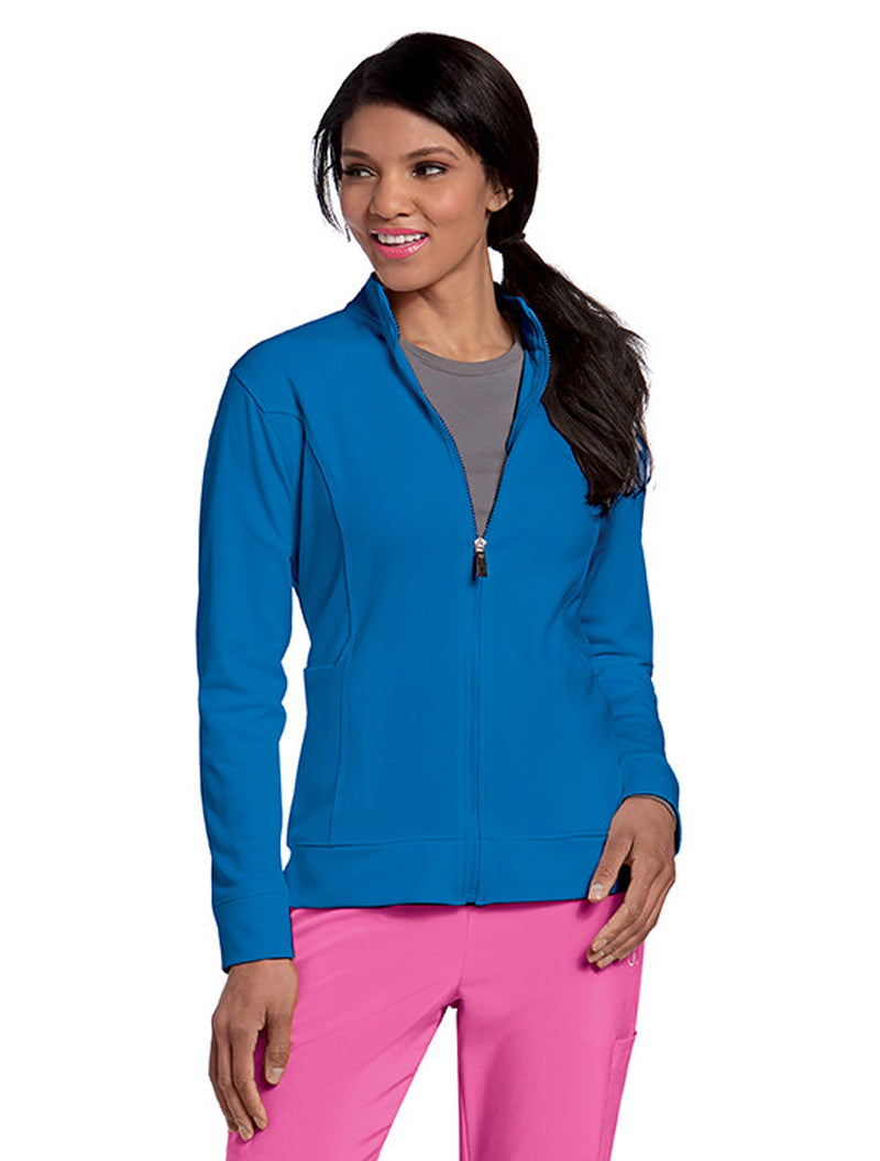 Urbane P-Tech Warm-Up Jacket Royal Blue