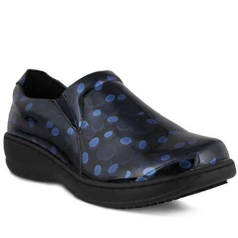 Spring Footwear Belo Polka Dot Medical Clog