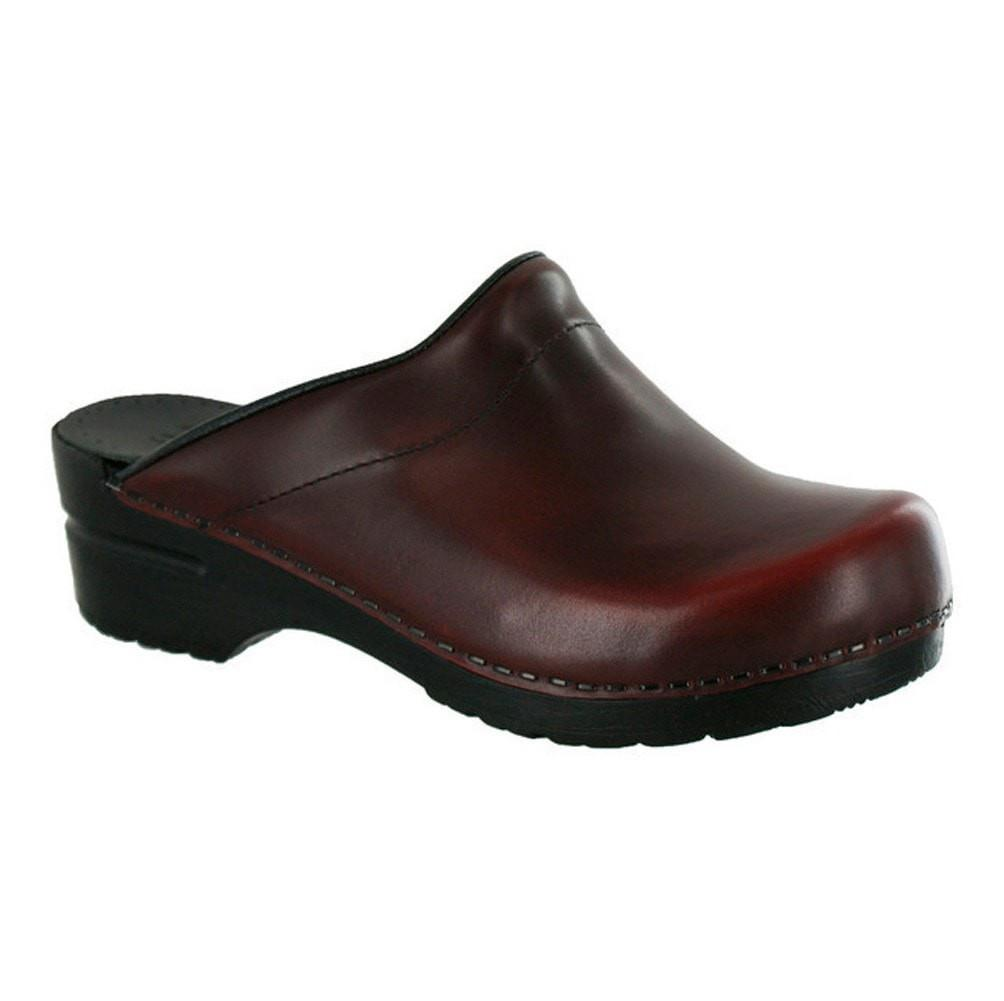 Sanita Women's Sonja Cabrio Medical Clog Bordeaux