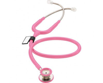 MDF One Stainless Steel Premium Pediatric Stethoscope Pink