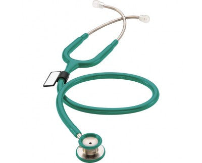 MDF One Stainless Steel Premium Pediatric Stethoscope Green