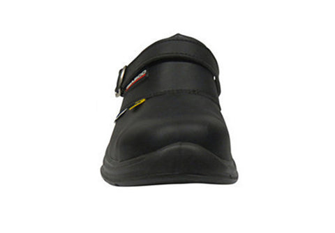 "Giasco ""Free"" Semi Open-Back Leather Medical Shoe"
