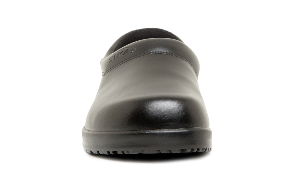 Sika Footwear Open Back Birchwood Medical Clog Front