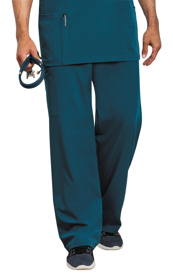 Jockey Men's Seven-Pocket Scrub Pant Caribbean