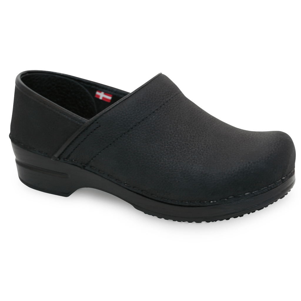 Sanita Albertine Women's Medical Clog - side view