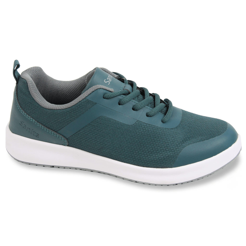 Sanita Concave Women's Green Medical Safety Sneaker -  side view