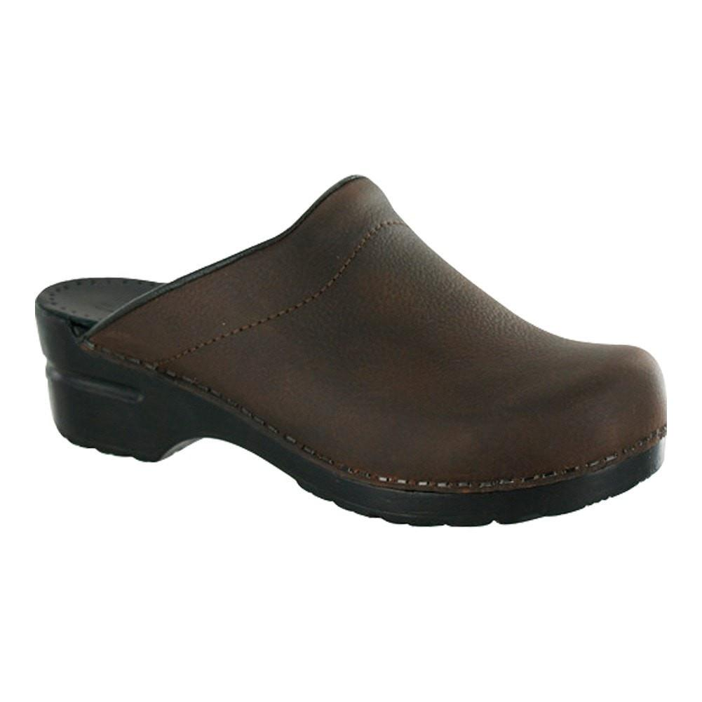 Sanita Women's Sonja Oil Medical Clog Brown