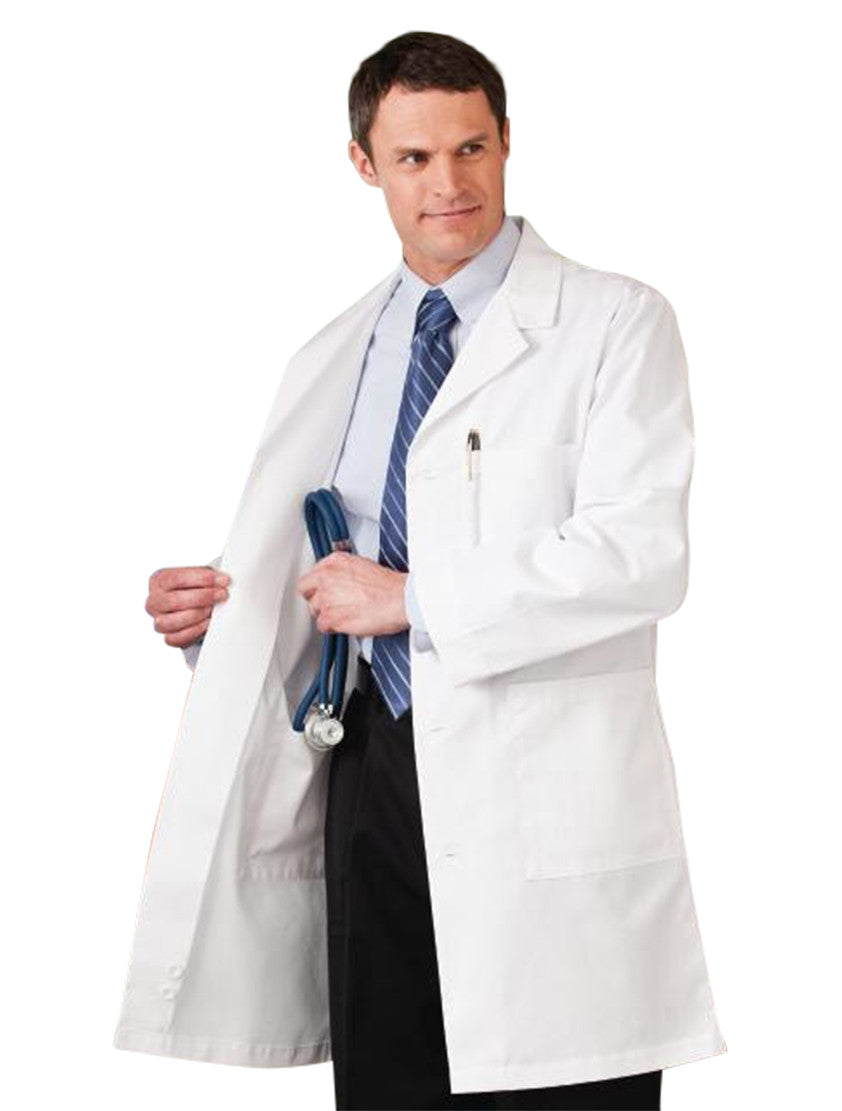 "Meta Men's 38"" Lab Coat Open"