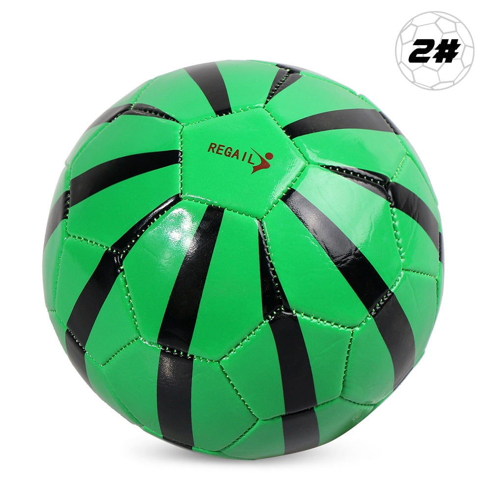 Professional Size 2 Football Soccer Ball Match Training Balls Inflatable Soccer Training Ball Gift for Children Students