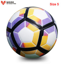 Load image into Gallery viewer, Russia Professional Size 4 Size 5 Football Premier PU Seamless Soccer Ball Goal Team Match Training Balls League futbol bola