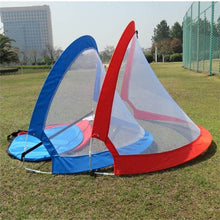 Load image into Gallery viewer, 1 Piece Foldable Football Net Goal Gate Extra-Sturdy Soccer Ball Practice Gate Children Students Soccer Goal