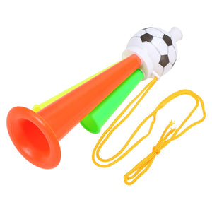 New Soccer Fans Trumpet Fan Cheer Bugle Football Sports Game Toy Horn Cheering Horn for Football Sports Events Random Color