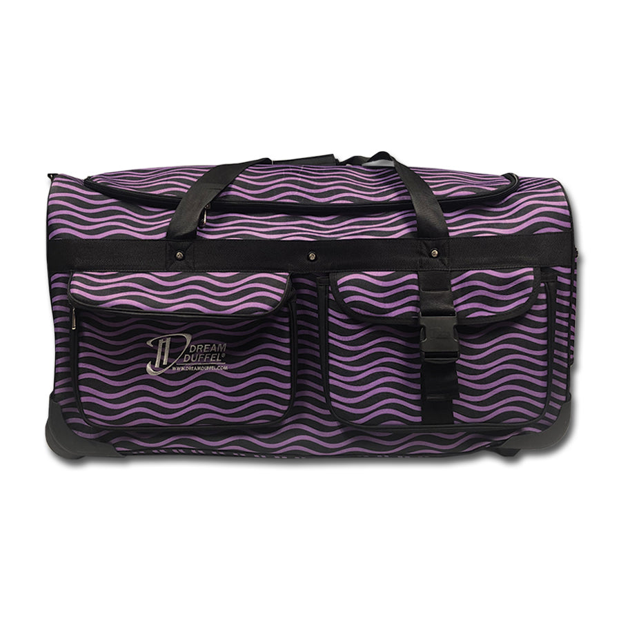 Dream Duffel Purple Waves Large - DR1600