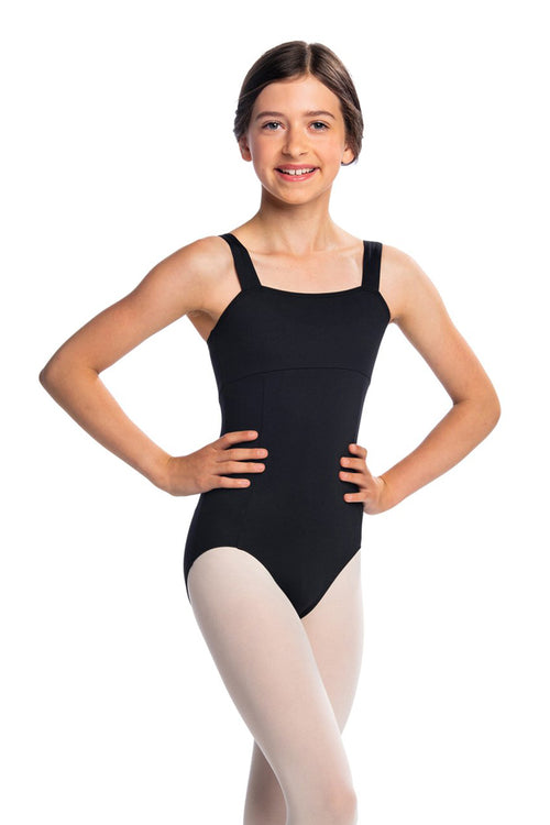 Ainsliewear Girls Square Neck Leotard - 102G
