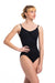 Ainsliewear Allegra Pinch Leotard with Grand Elegance Print - 136GEP
