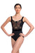 Ainsliewear Arden Leotard with Grand Elegance Print - 1101GEV