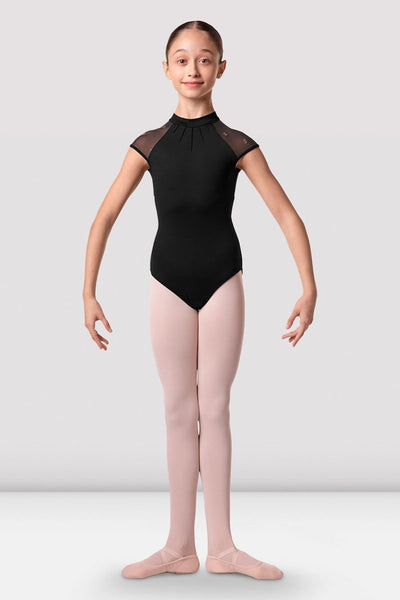 Bloch Girls Halo Cap Sleeve Leotard - CL3132