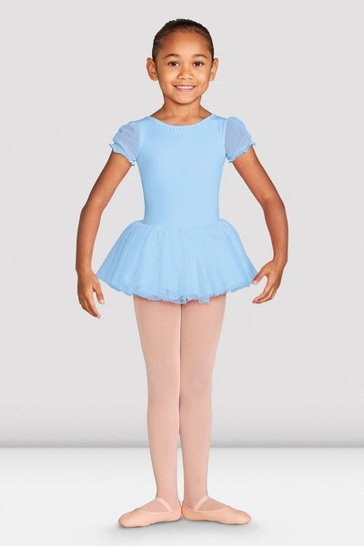 Bloch Girls Amelia Frill Cross Back Tutu Dress - CL5542