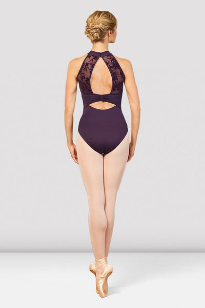 Bloch Aero Halter Neck Open Back Adult Leotard -  L7855