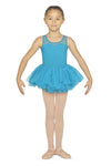 Block Girls Flock Bow Back Tutu Ballet Dress - CL5555