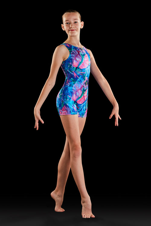 Bloch Gymnastics (Dynami) Wild One Girls Biketard - GB184C
